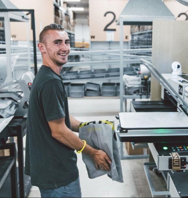 Real-time printing