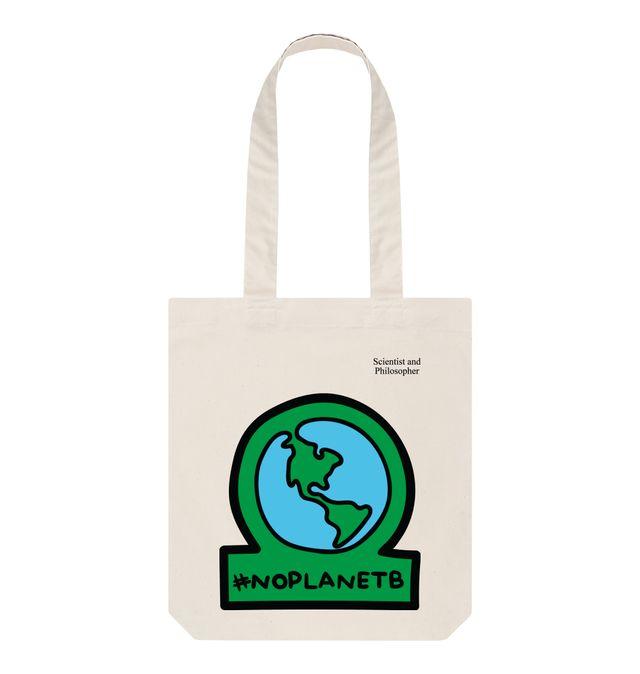 No planet B design 1 V1B shopping bag