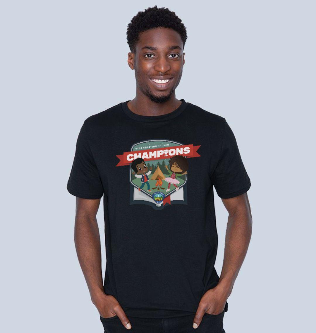Champions Adult Club Adventurer T-Shirt